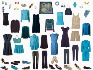 12 months of outfits based on Hermes Grands Fonds silk scarf