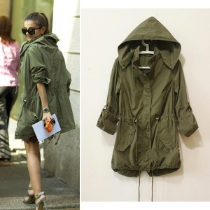 Military parkas--a trend I've studiously avoided